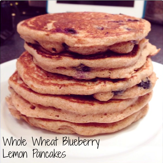 Blueberry Lemon Pancakes | Simply Social Blog