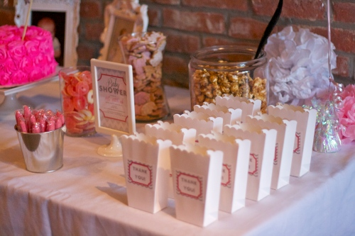 baby shower dessert favors