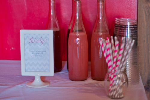 paper straws baby shower drinks