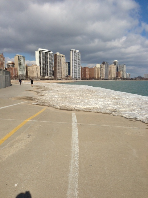 chicago lake running path
