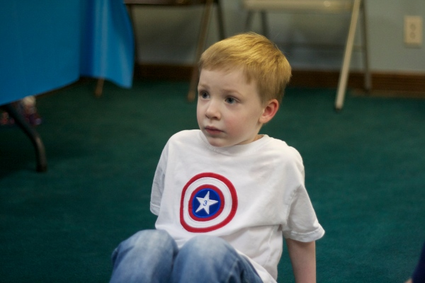 captain america birthday party