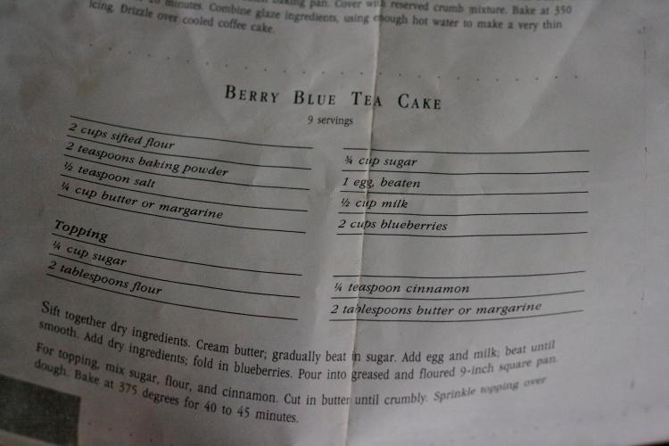 berry blue tea cake