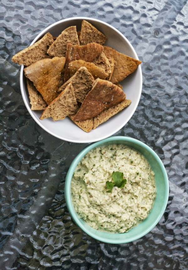 baba ganoush simply social blog roasted eggplant dip