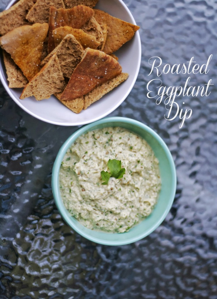 roasted eggplant dip baba ganoush