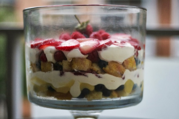 triple berry trifle simply social blog
