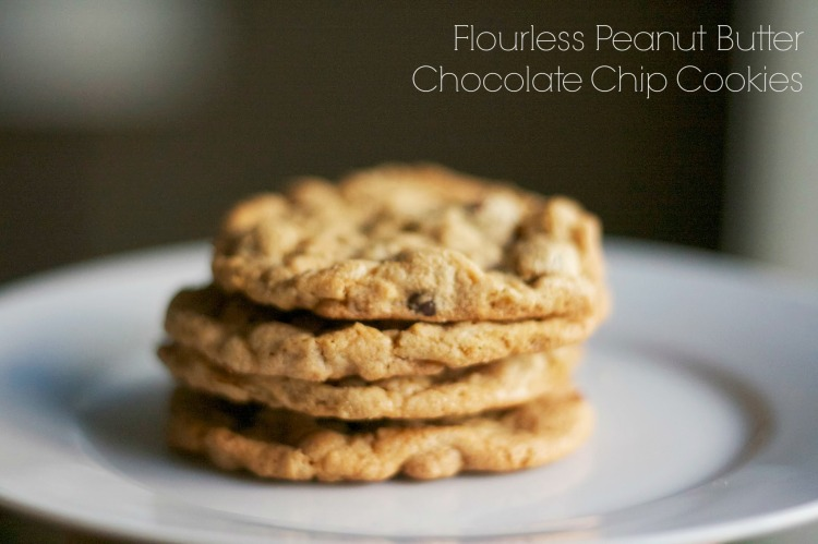 flourless gluten free chocolate chip peanut butter cookies simply social blog