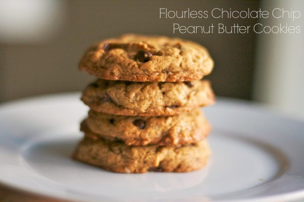 flourless chocolate chip peanut butter oatmeal cookie simply social blog