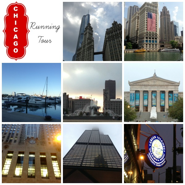 Chicago running tour sites