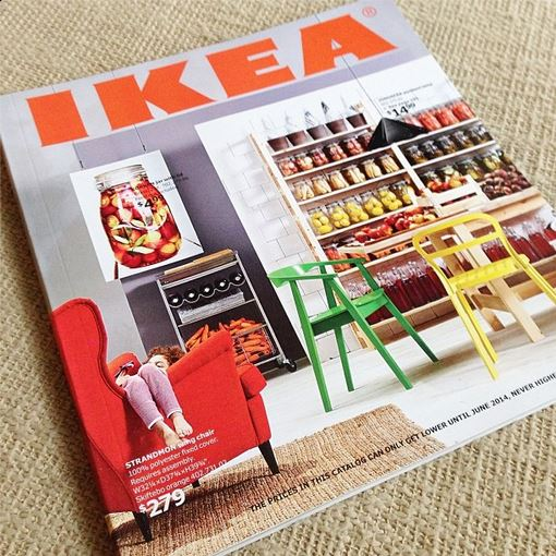 IKEA summer catalog simply social blog
