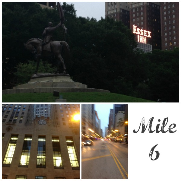 chicago running tour state street chicago board of trade essex inn grant park