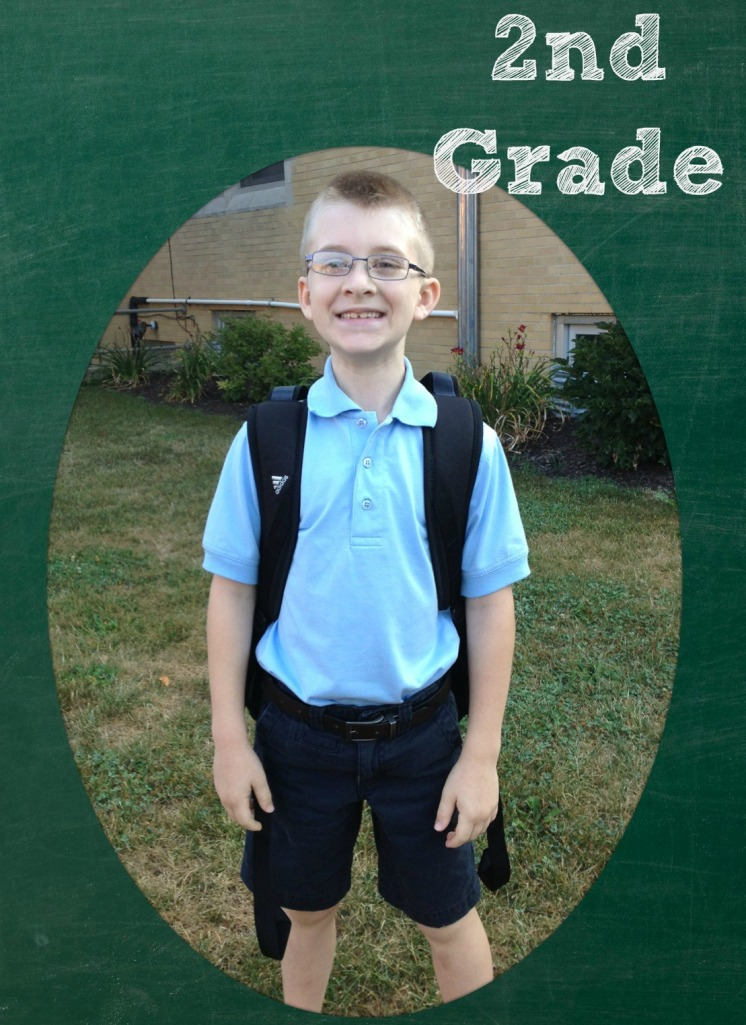 first day of school second grade