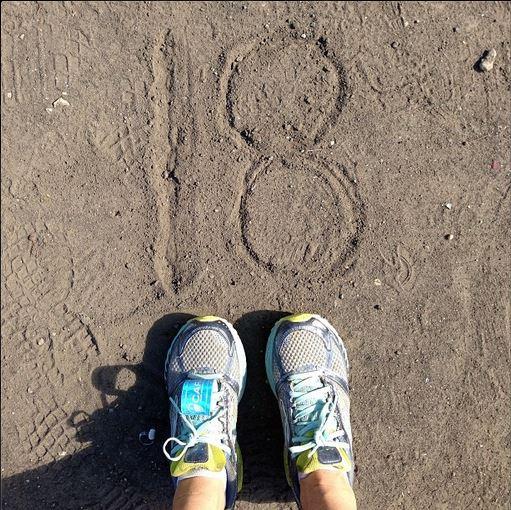 18 mile run chicago marathon summer training CARA