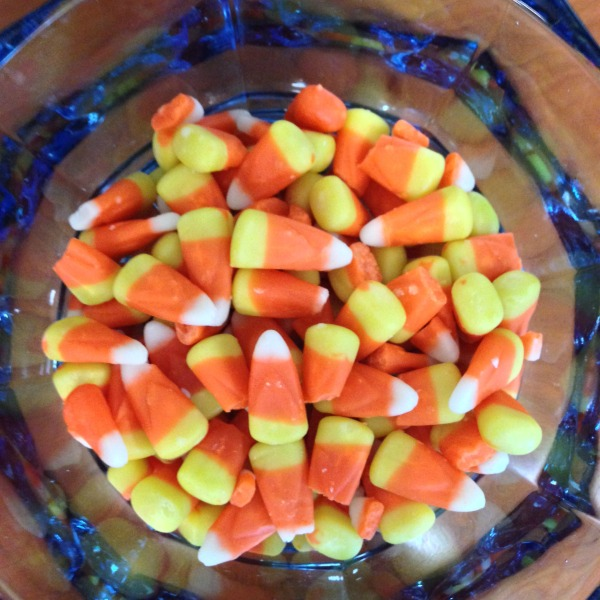 candy corn dish halloween simply social blog