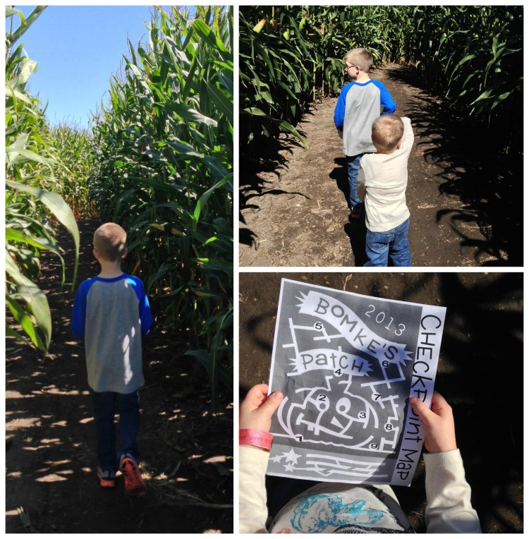 bomke's patch, pumpkin, simply social blog, corn maze, map