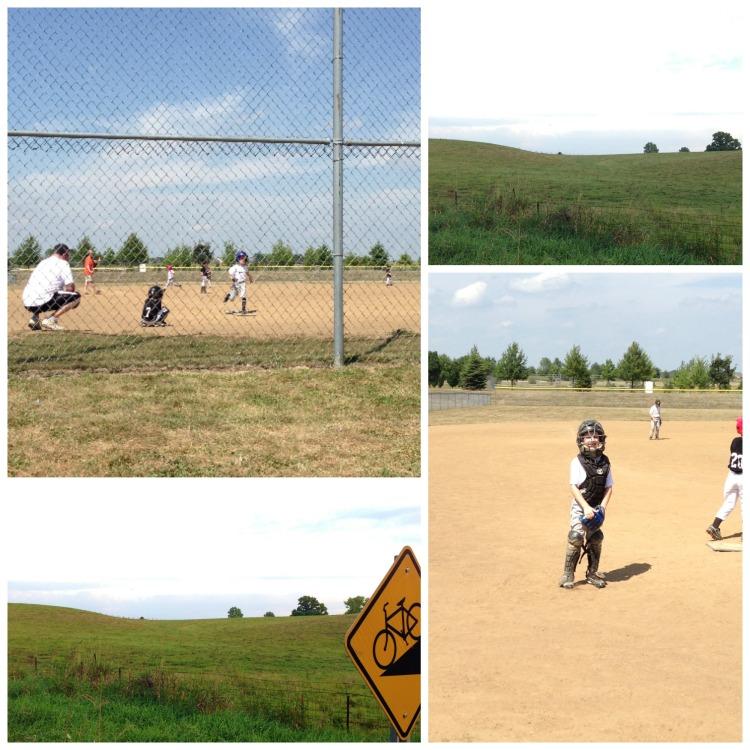 springfield illinois running trail baseball game
