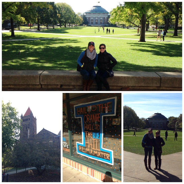 University of Illinois homecoming, quad, campus, Altgeld Hall, simply social blog