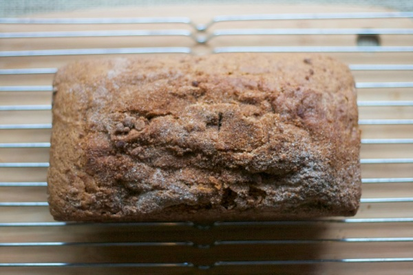 pumpkin bread streusel topping
