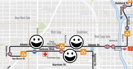 chicago marathon course map simply social blog