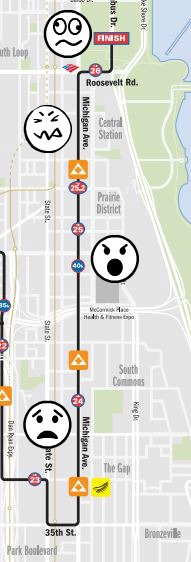 chicago marathon course map simply social blog