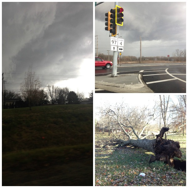 tornado central illinois, storm damage, springfield illinois