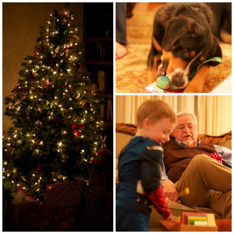 christmas presents captain america, christmas tree, simply social blog