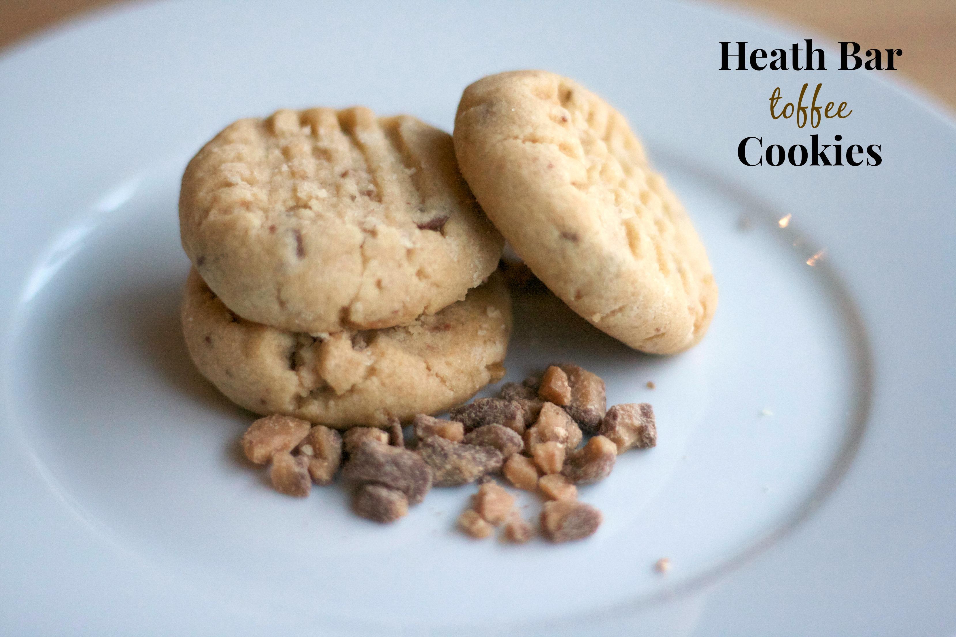 Heath Bar Cookies Recipe — Dishmaps