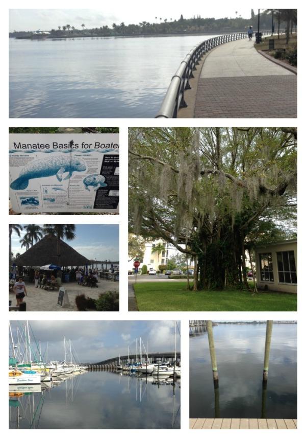 bradenton florida riverwalk, winter vacation, simply social blog