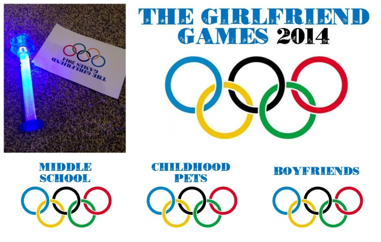 girls weekend activity ideas, girlfriend games 2014, olympic games for girls weekend, trivia, game night ideas