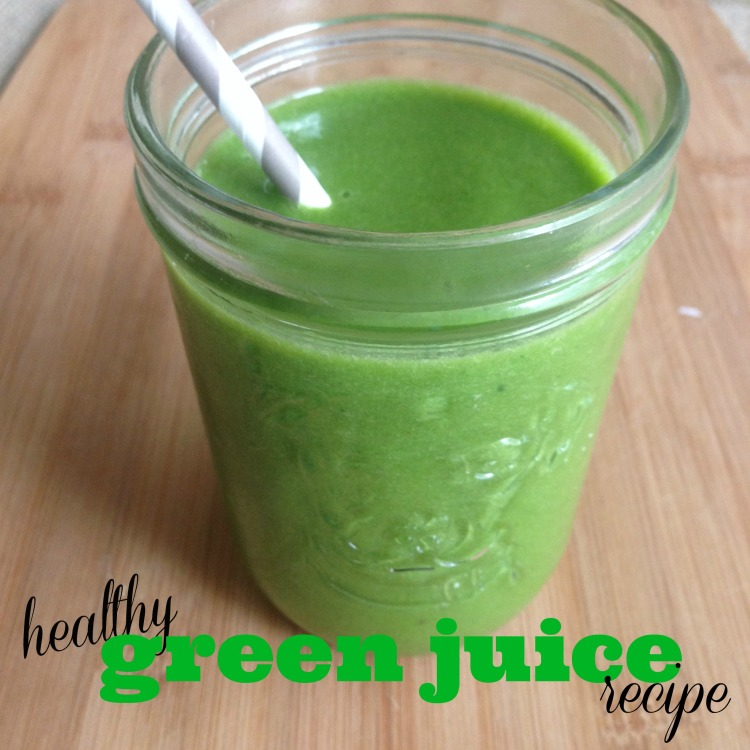 healthy green juice recipe, no-juicer green juice recipe, raw green juice,