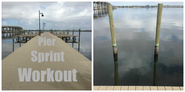 vacation workout tips, pier to pier sprints, workout wednesday