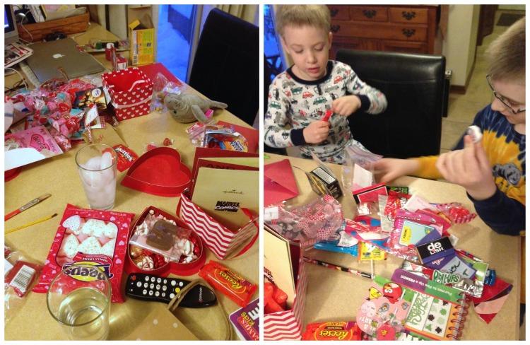 valetines day candy, boys, valentines day