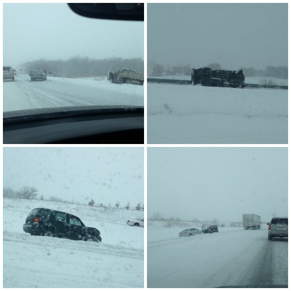 winter road conditions, bloomington, winter weather, accidents