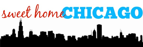 sweet home chicago banner, farewell tour of chicago, chicago skyline banner