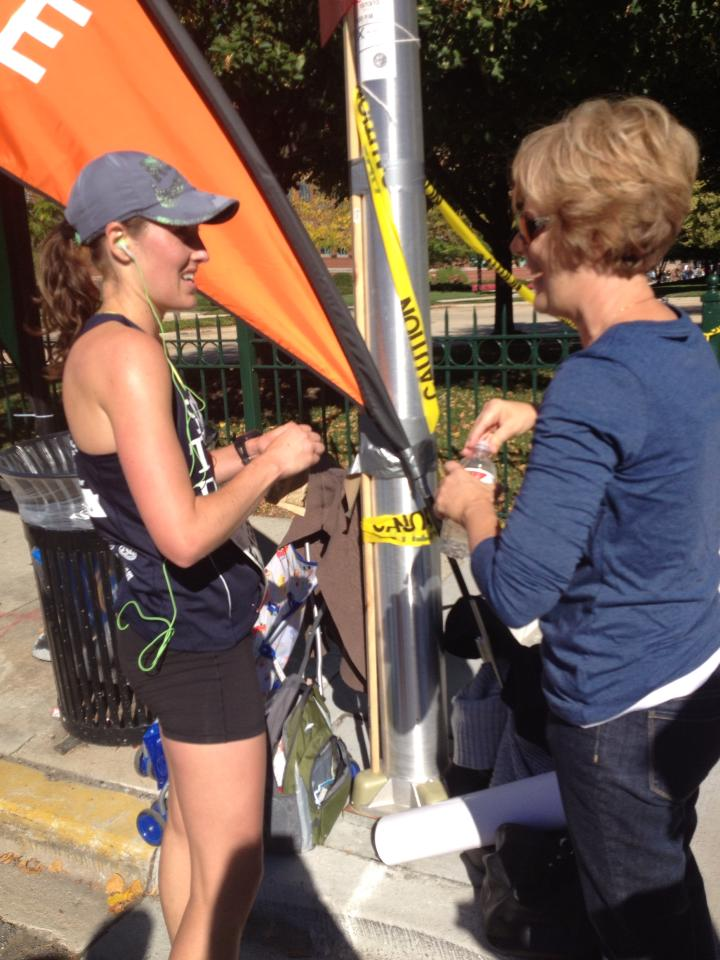 chicago marathon, mom, an ode to mom, mothers day