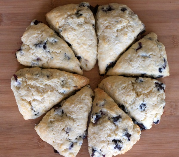 lemon blueberry scones, scone recipe, baking, breakfast, recipes, lessons in baking