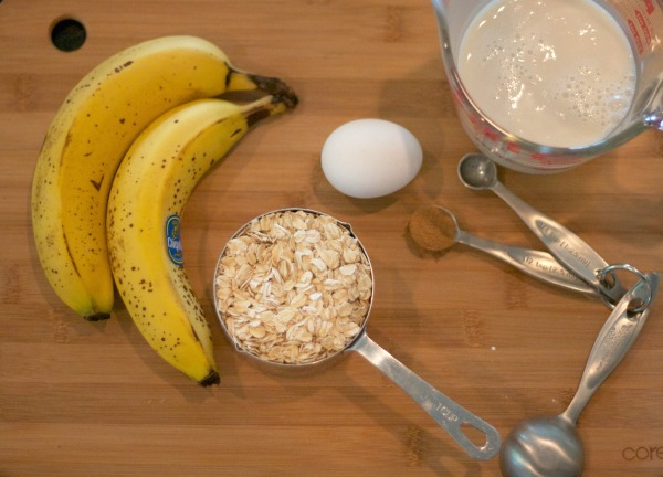 banana oat pancakes, gluten free, simple pancakes, recipes, breakfast, brunch, pancakes,