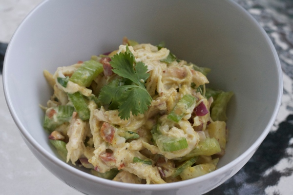 summer chicken salad, recipes, spring, greek yogurt chicken salad, almond chicken salad