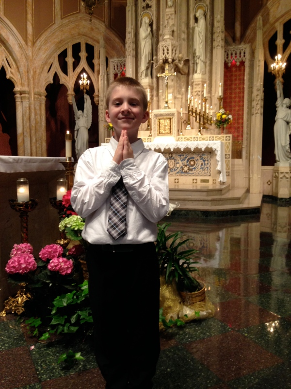 first communion, owen, sacrament
