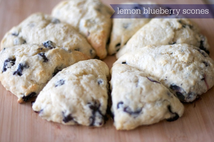 lemon blueberry scones, scone recipe, baking, breakfast, recipes, lessons in baking