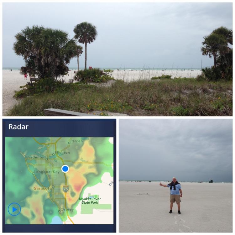 siesta key storm, water spout, tornado, florida weather,