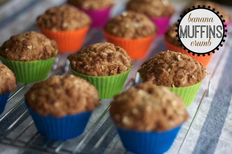 new york baking company, silicone baking cups, banana crumb muffin recipes, breakfast, baking, brunch, recipes