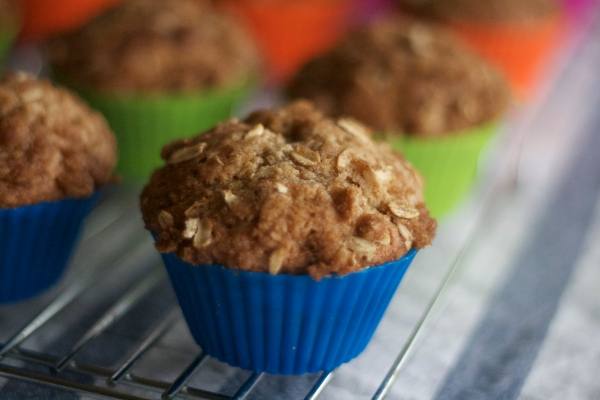new york baking company, silicone baking cups, banana crumb muffin recipes, breakfast, baking, brunch, recipes