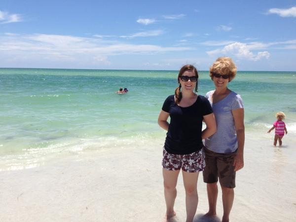 Lido Beach, St Armands, Florida, family, birthday