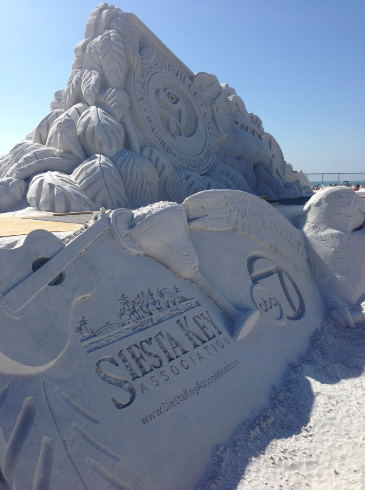 siesta key crystal classic, sand sculptures, sand castles, siesta key beach, crystal classic, florida, vacation, margaritaville