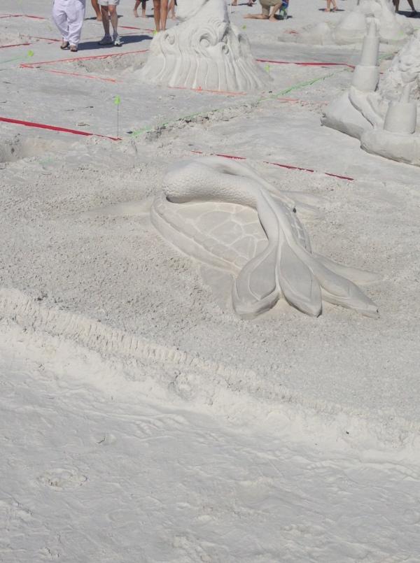 siesta key crystal classic, sand sculptures, sand castles, siesta key beach, crystal classic, florida, vacation, mermaid