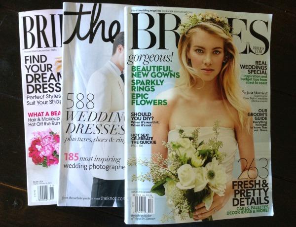 5 ways I'm failing at wedding planning, wedding, bridal magazines, bride, wedding planning tips