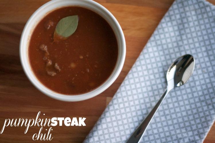 pumpkin steak chili, taste of home, chili recipes, fall recipes, dinner, dutch oven, quick chili recipe