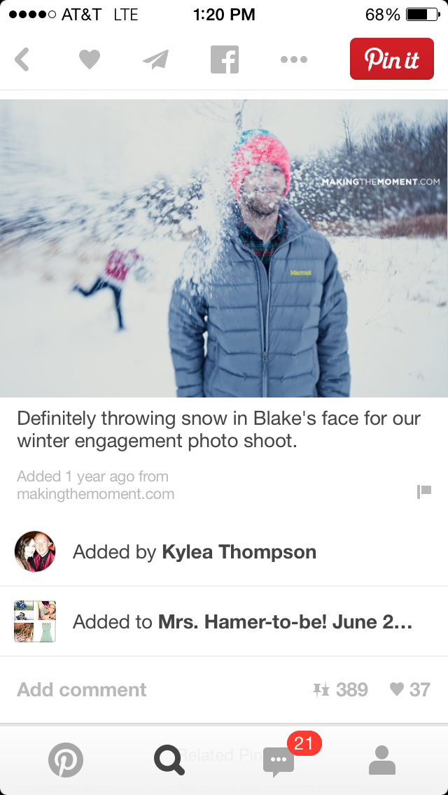 5 ways Pinterest is ruining engagement photos, pinterest, engagement photos, wedding, snowball fight, dumb and dumber, winter engagement photos