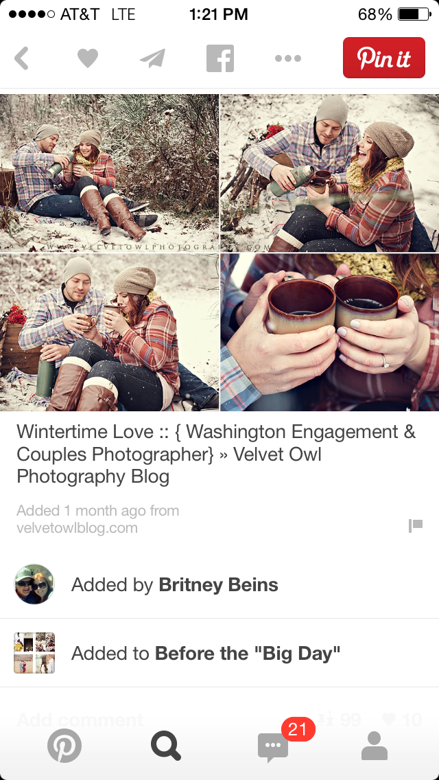5 ways Pinterest is ruining engagement photos, pinterest, engagement photos, wedding, hot cocoa, winter props, winter engagement photos