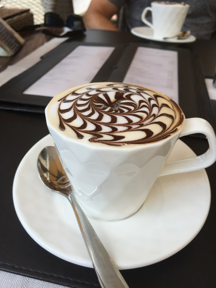 venice, italy, honeymoon in italy. cappuccino, croissant, breakfast, travel, venezia, italia